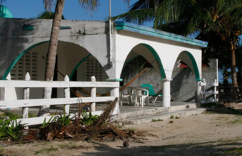 Hammocks are the preferred way to sleep in the Yucatan