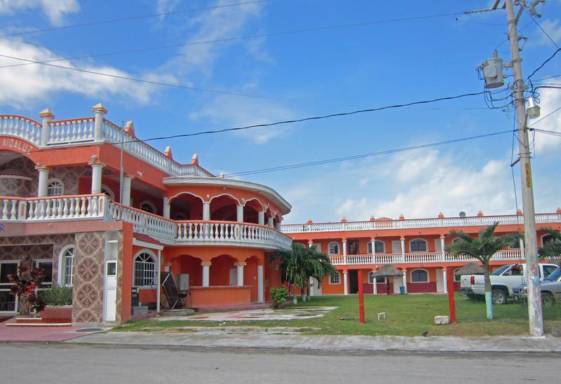 The new Hotel Aidaluz in El Cuyo