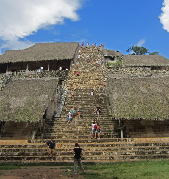 The main pyramid at Ek Bahlem