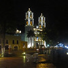 Vallodolid church at night