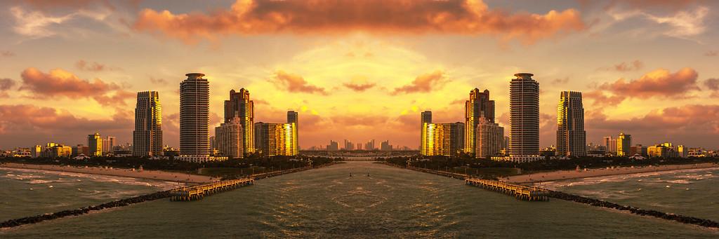 我眼中的邁阿密港