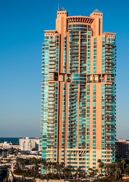Miami Skyline as we were leaving port
