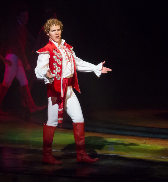 """Photo from """"Land of Make Believe"""" show in the Celebrity Constellation's theater"""