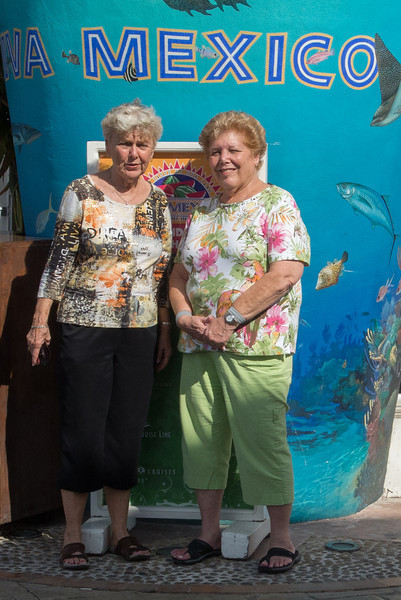 • Location - Cozumel<br /> • Judy and Sandy posing for my photo.