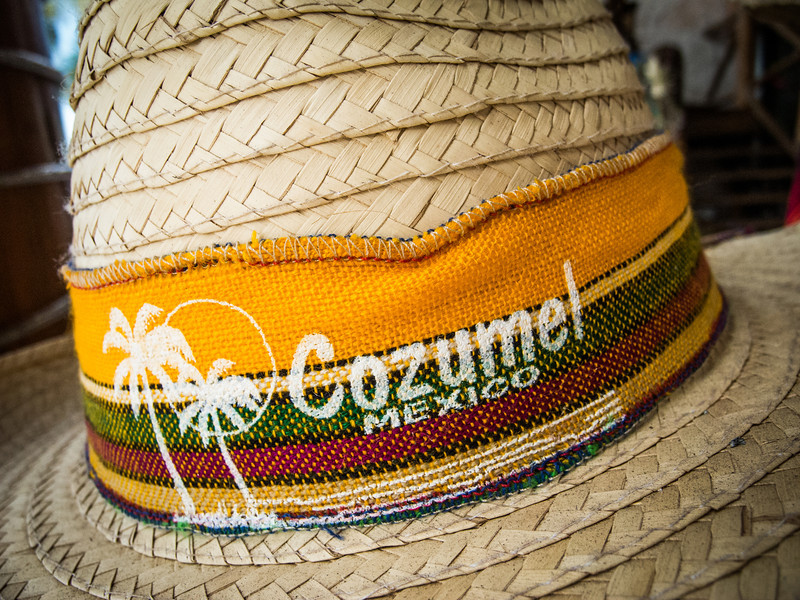 • Location - Cozumel<br /> • OK, it's just a straw hat