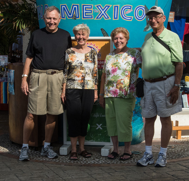 • Location - Cozumel<br /> • The only group photo I got of us all four together