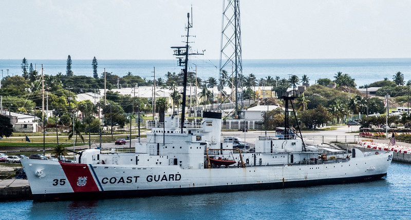 U.S. Coast Guard Cutter at the Ingham Maritime Museum