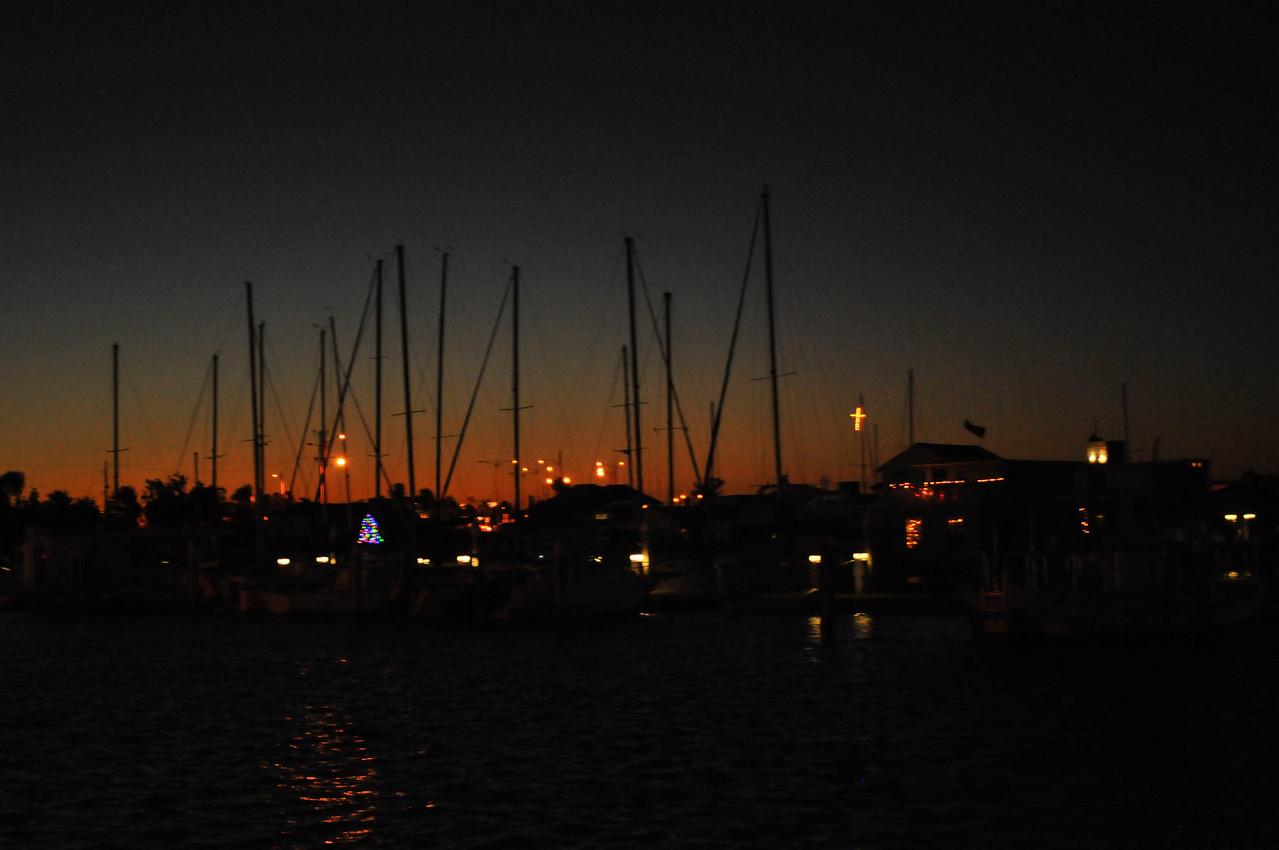 Dusk in Key West, Florida - December 2012