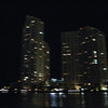 Site seeing cruise in Miami harbor.