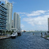 Miami River Looking to the Port of Miami