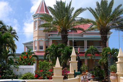 The southern most house in the continental US at Key West, next stop Cuba