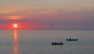 Sunset off the Islamorada Keys, Florida