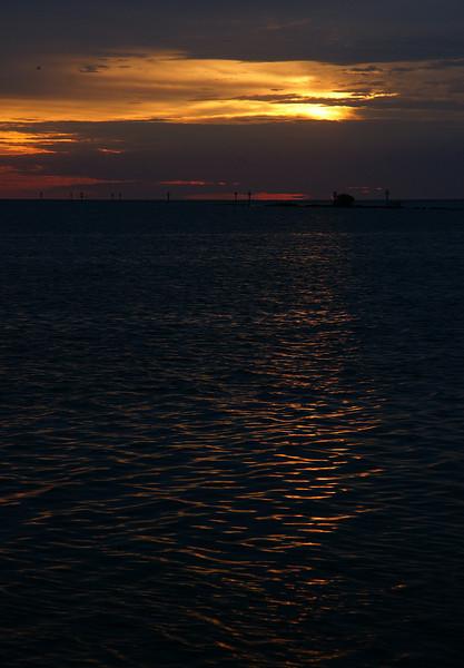 Sunrise on Biscayne Bay