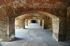 Archways on the interior of Fort Jefferson