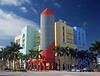 The quintessential style of Art Deco district in South Beach.