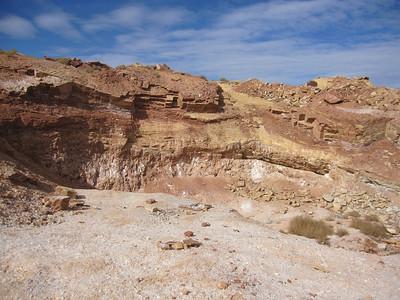 Mica Mine & Petroglyphs, AZ Strip - 11/16/2013