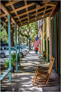 The folks in this old Florida hamlet were kind, hospitable, and eager to share their commentary about this old town.