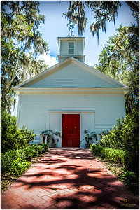 In 1873, the Presbyterians built the wood-frame church that still stands today, now owned by The Episcopal Church.