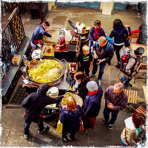 Paella at Covent Garden, London (May, 2014)