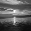 """June 30,2011<br /> """"Black Sky"""" - I love the sunrise even in black and white! I hope you have a great Thursday!"""