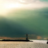 """""""Light of the Lake""""- another scene from the Michigan City Lighthouse."""