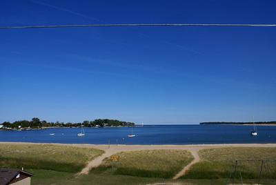 Grand Marais Harbor on Lake Superior