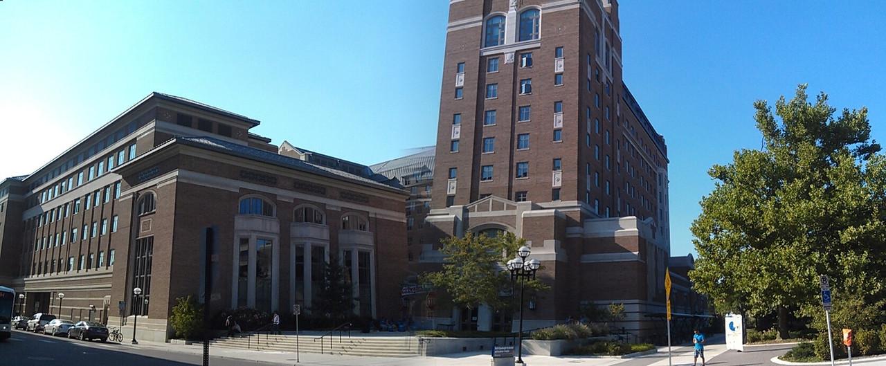 Pano of School of Information, University of Michigan