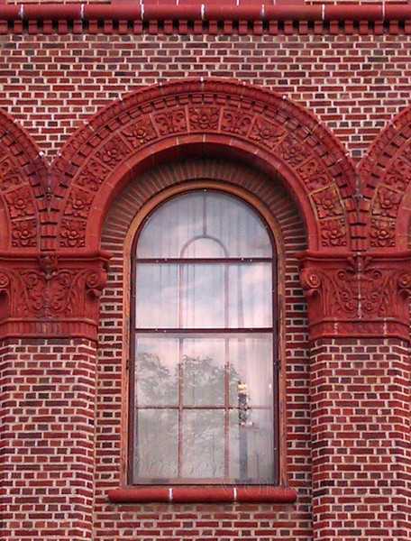 Window of building on E. Washington St., Ann Arbor