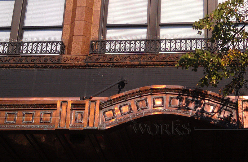 Decorative trim on Building in downtown Ann Arbor
