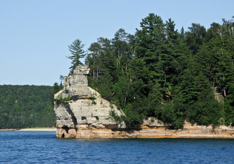 Pictured Rocks National Lakeshore (Castle Rock)