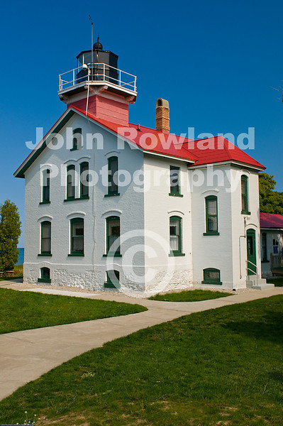 Grand Traverse Lighthouse.  Northport, Michigan.