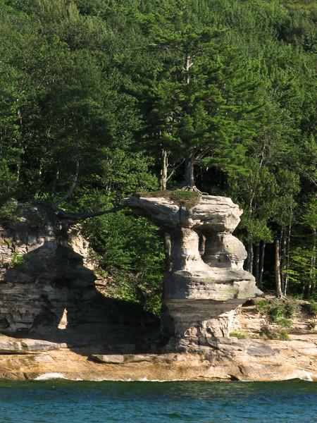 Pictured Rocks National Lakeshore (Chapel Rock)