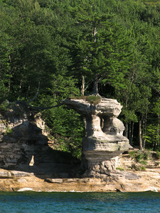 Pictured Rocks National Lakeshore (Chapel Rock)