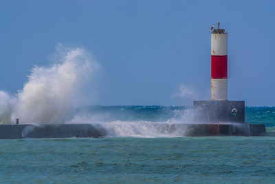 Frankfort Michigan Breakwater