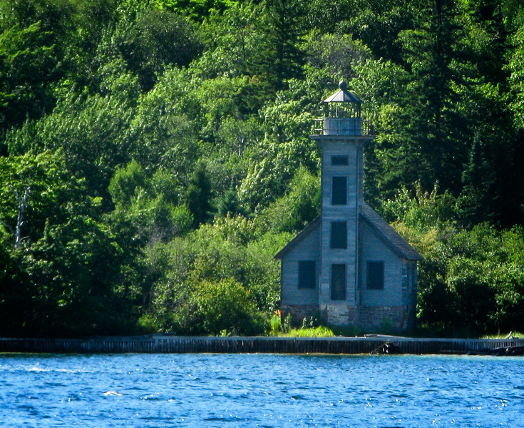 Lighthouse (Pictured Rocks National Lakeshore)