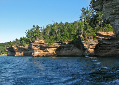 Pictured Rocks National Lakeshore (Battle Ship Row)
