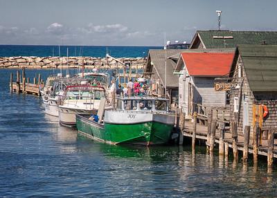 Joy Fishing Boat in Fishtown