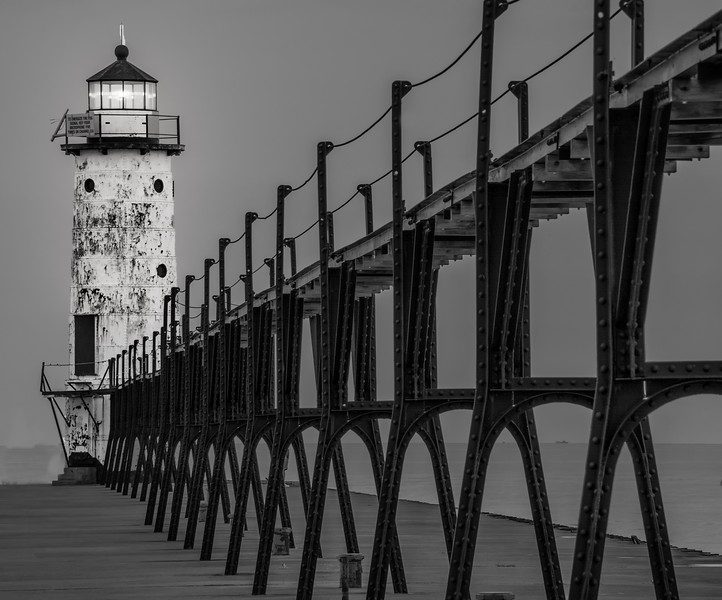 Manistee Michigan Northpier Lighthouse