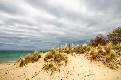 Lake Michigan Sandy Beaches