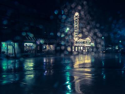 rain on Main