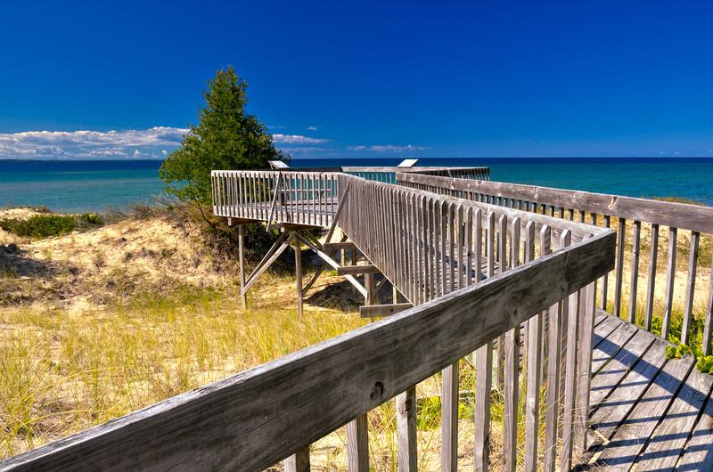 Boardwalk on the Dunes