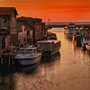 Fishtown at Sunset
