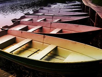 Boat livery at Tahquamenon Falls State Park in da U.P., eh?