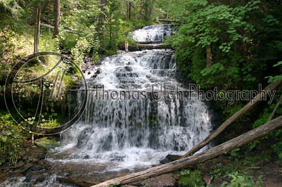 Sable Falls. Michigan's Upper Peninsula.