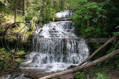 Sable Falls. Michigan's Upper Peninsula.