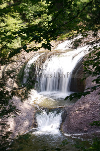 Canyon Falls. Michigan's Upper Peninsula.