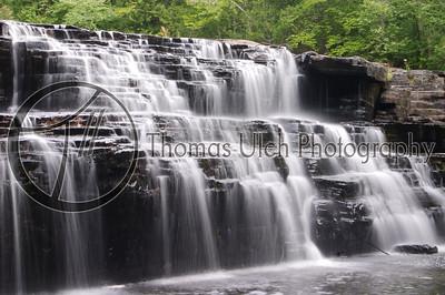 Manabezho Falls Falls. Michigan's Upper Peninsula.