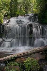Wagner Falls. Michigan's Upper Peninsula.