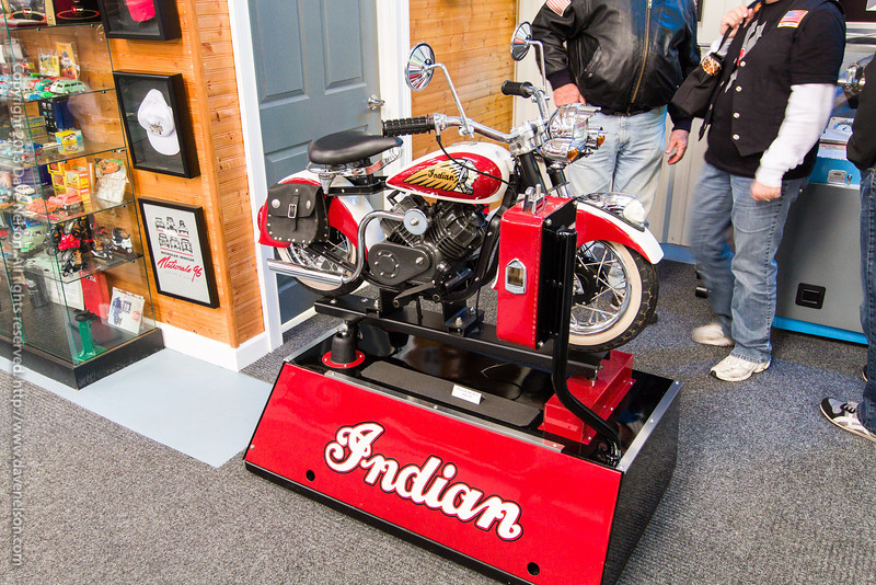 Indian Motorcycle coin-operated machine