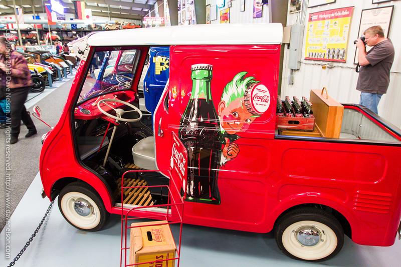 1959 Goggomobil TL-400 Transporter Pickup - Coca-Cola Branded